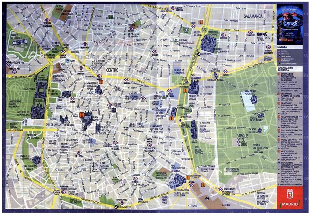 Cartina Monumenti Londra Pdf.Metropolitana Di Madrid Cartina