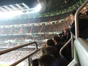 Foto Antoni Stadio Santiago Bernabeu Madrid