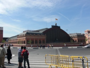 Stazione Atocha Madrid
